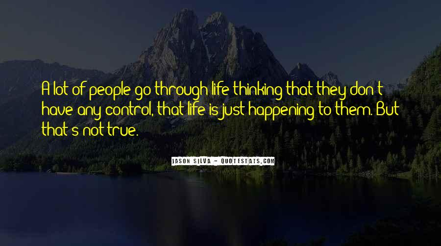Happening Life Quotes #188910