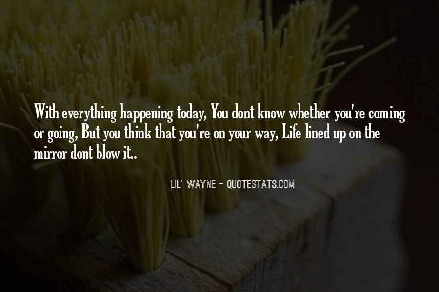 Happening Life Quotes #217295