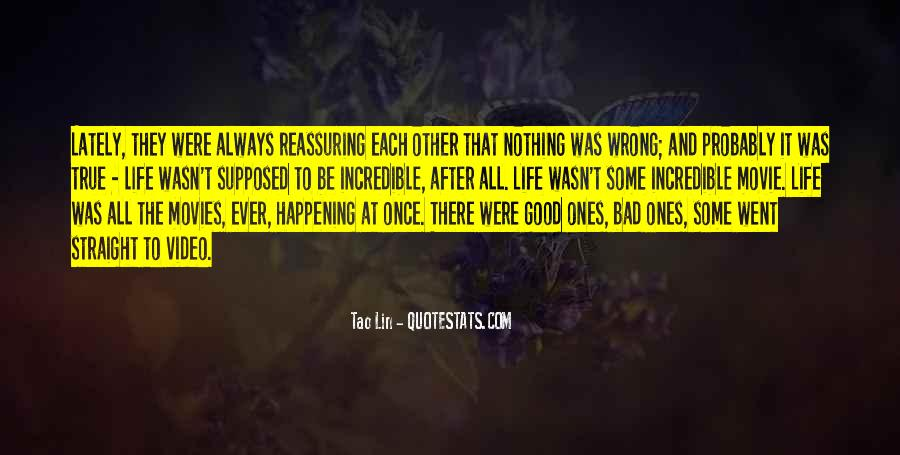 Happening Life Quotes #281678