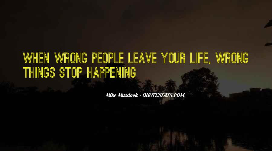 Happening Life Quotes #307882
