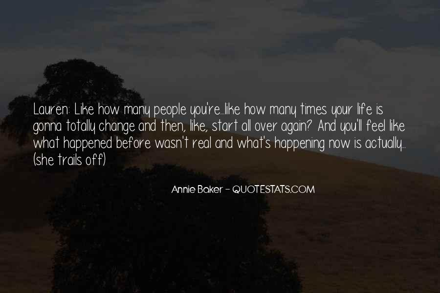 Happening Life Quotes #372657