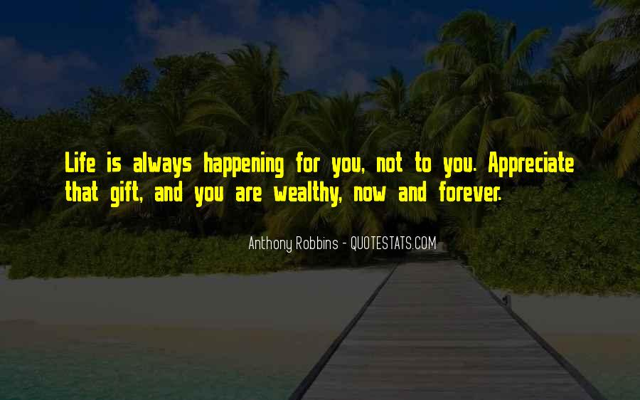 Happening Life Quotes #422126