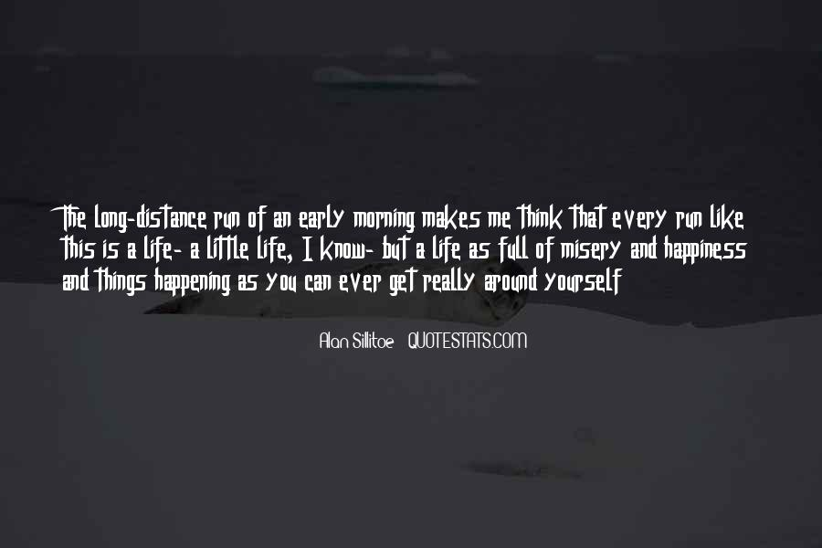 Happening Life Quotes #441089