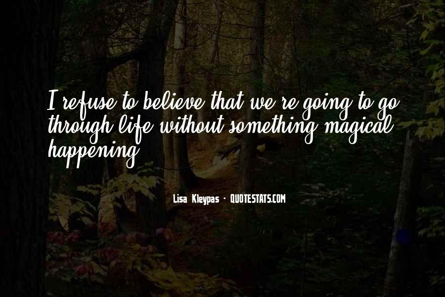 Happening Life Quotes #441101