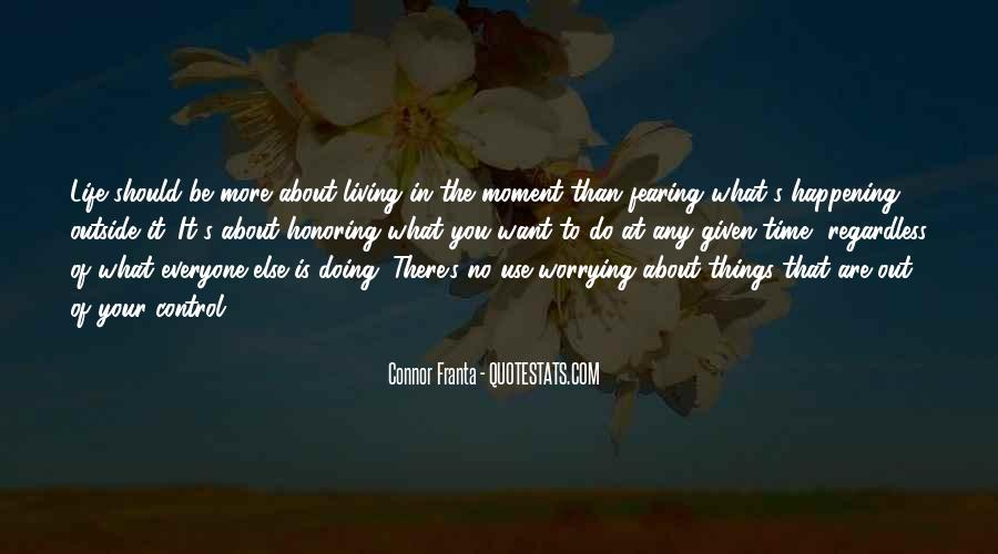Happening Life Quotes #470431