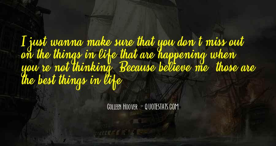 Happening Life Quotes #85440