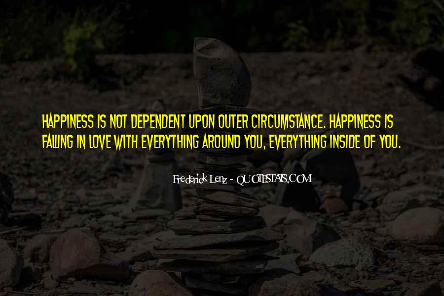 Happiness Inside You Quotes #1326201