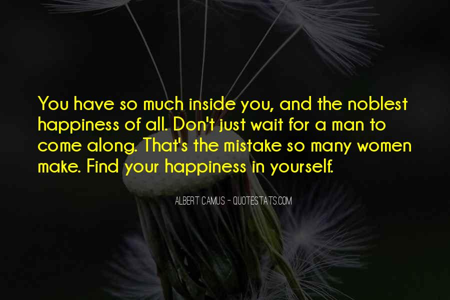 Happiness Inside You Quotes #1418475