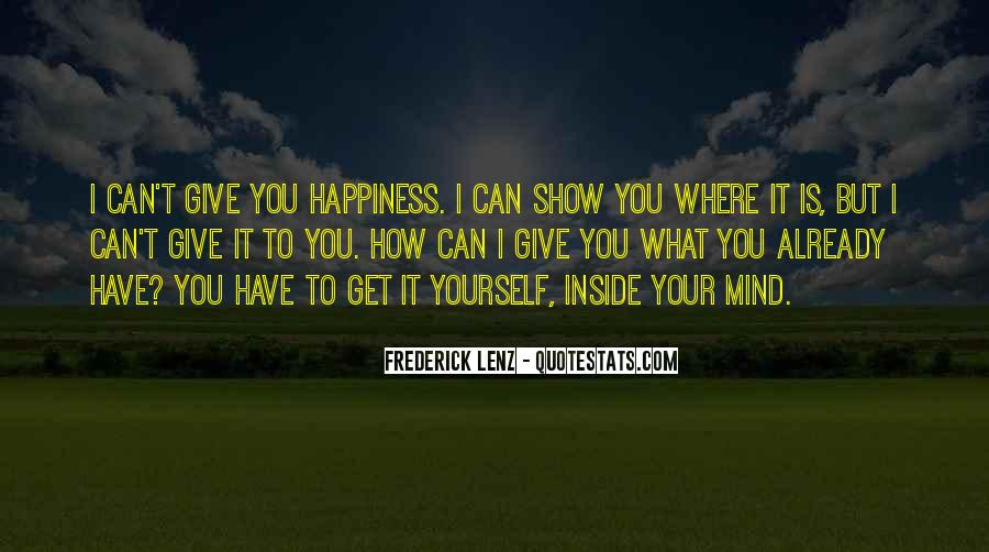 Happiness Inside You Quotes #1648377