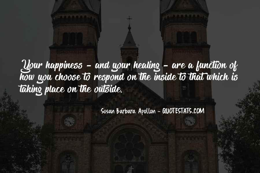Happiness Inside You Quotes #1671976