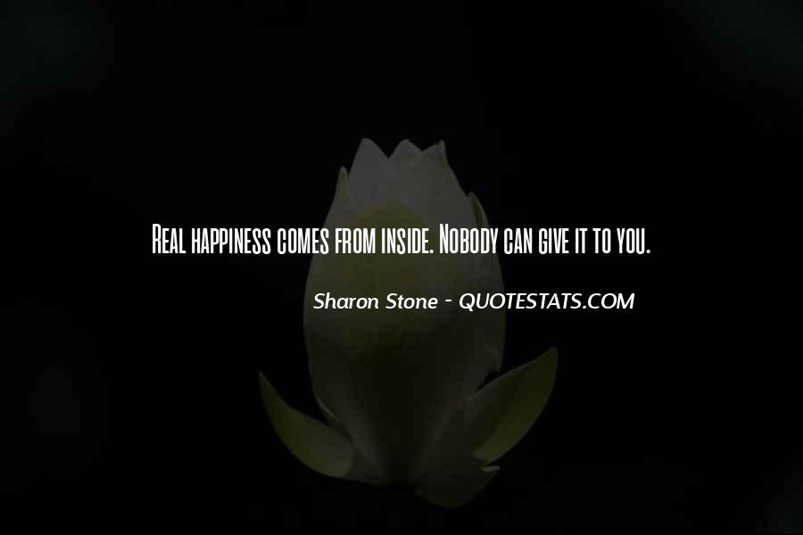 Happiness Inside You Quotes #285676