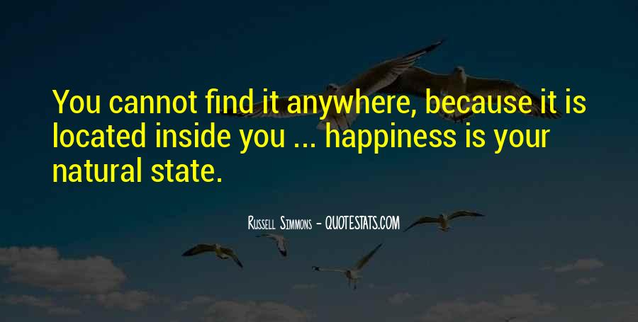 Happiness Inside You Quotes #668667