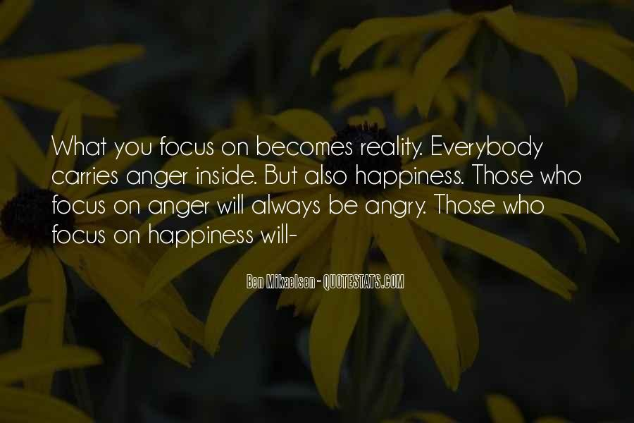 Happiness Inside You Quotes #981256