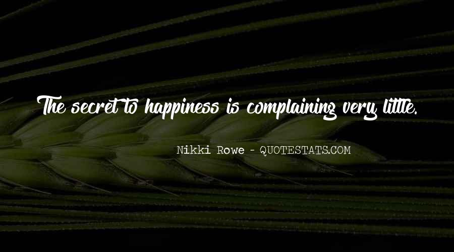 Happiness Is Being Grateful Quotes #100754