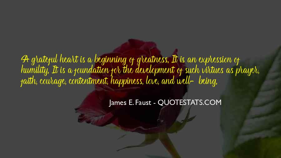 Happiness Is Being Grateful Quotes #270637