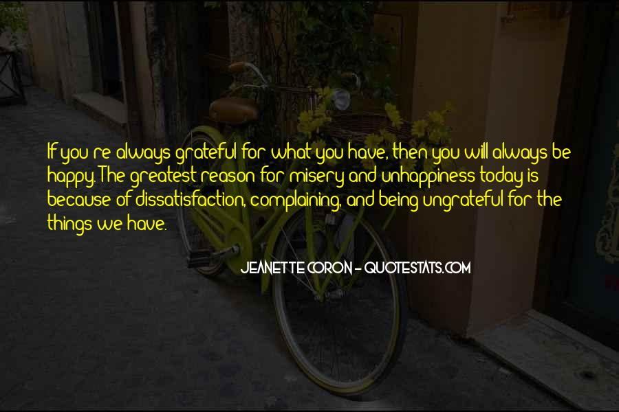 Happiness Is Being Grateful Quotes #479211