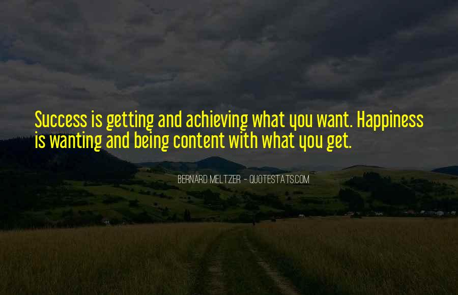 Happiness Of Achieving Quotes #1360042