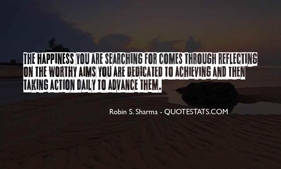 Happiness Of Achieving Quotes #1800455