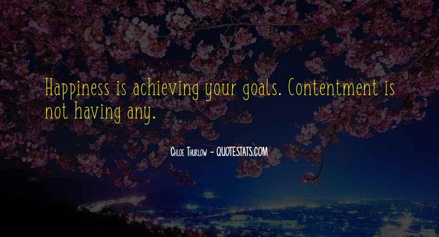 Happiness Of Achieving Quotes #435374
