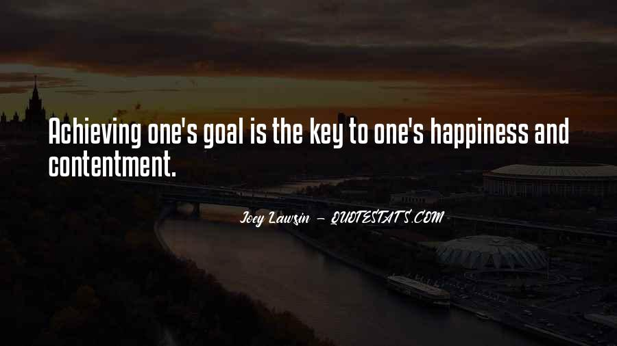 Happiness Of Achieving Quotes #629707