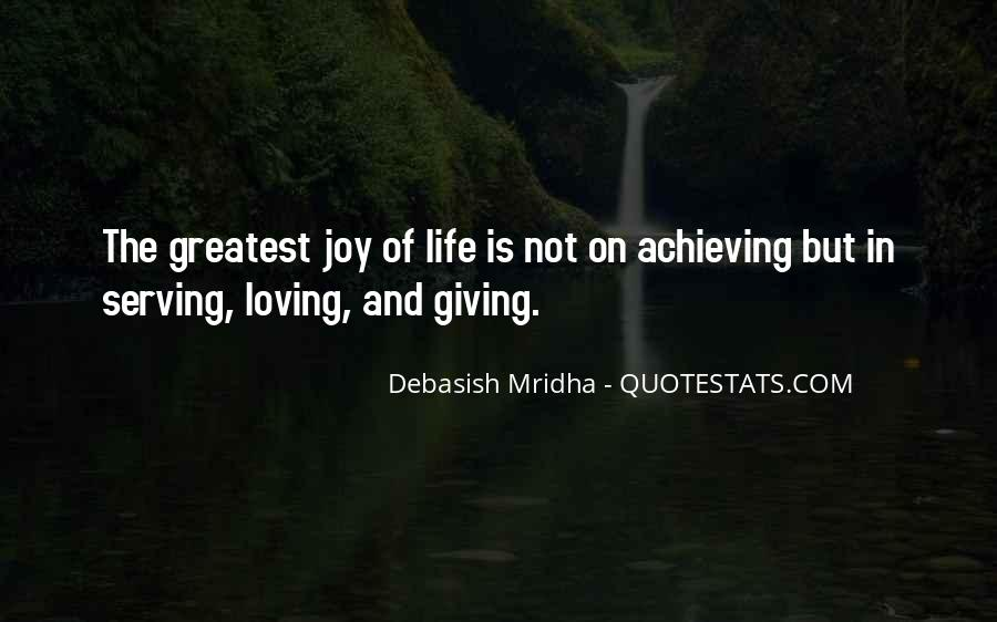 Happiness Of Achieving Quotes #653295