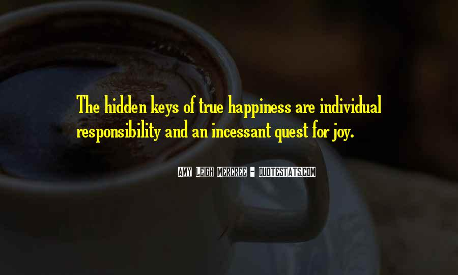 Happiness Quest Quotes #620351