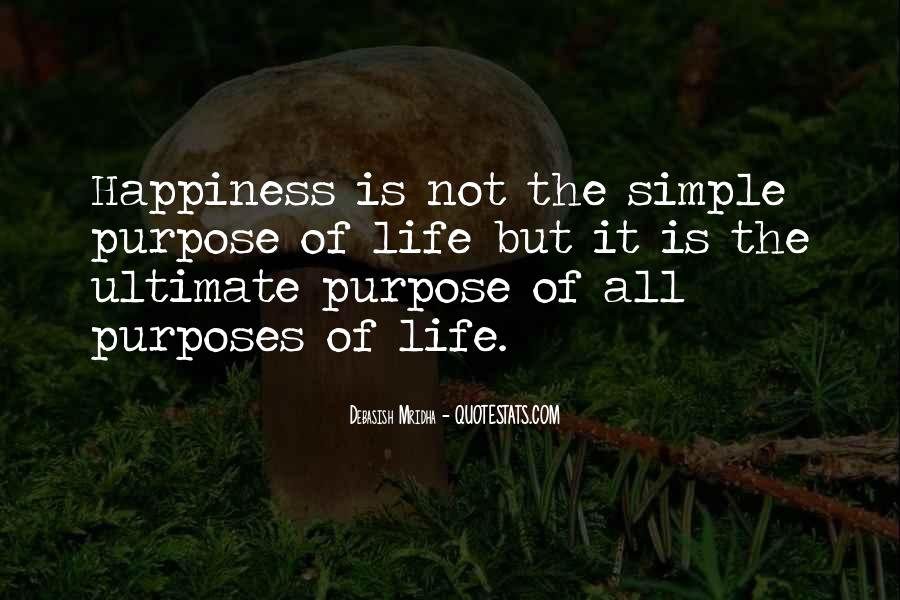 Happiness Simple Life Quotes #1092580