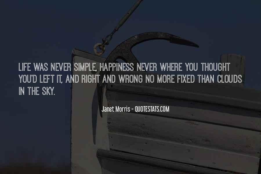 Happiness Simple Life Quotes #1108414