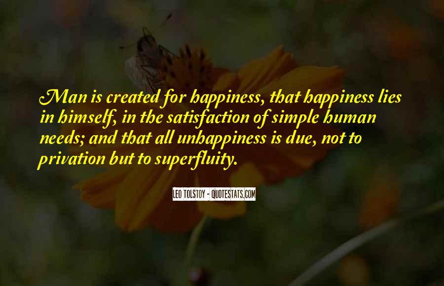 Happiness Simple Life Quotes #1502633