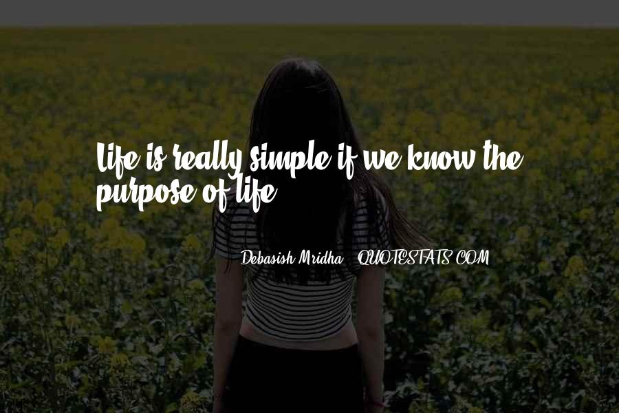 Happiness Simple Life Quotes #1578438