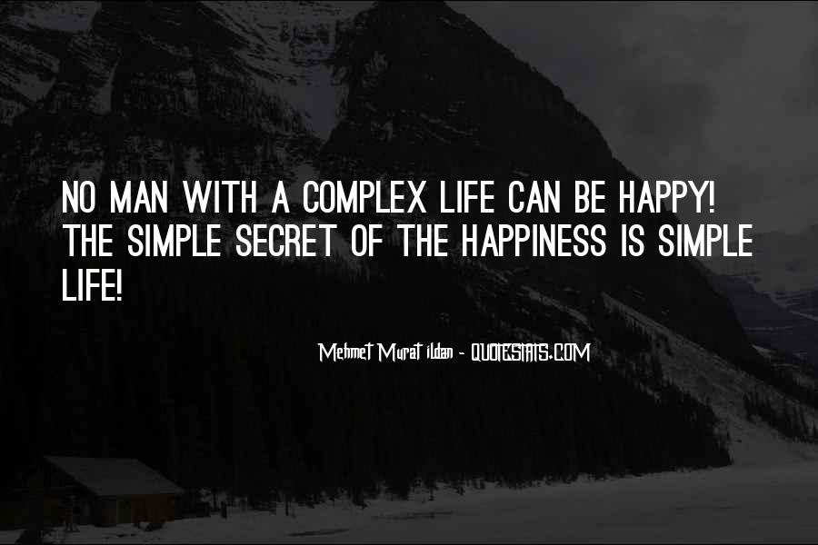 Happiness Simple Life Quotes #608778
