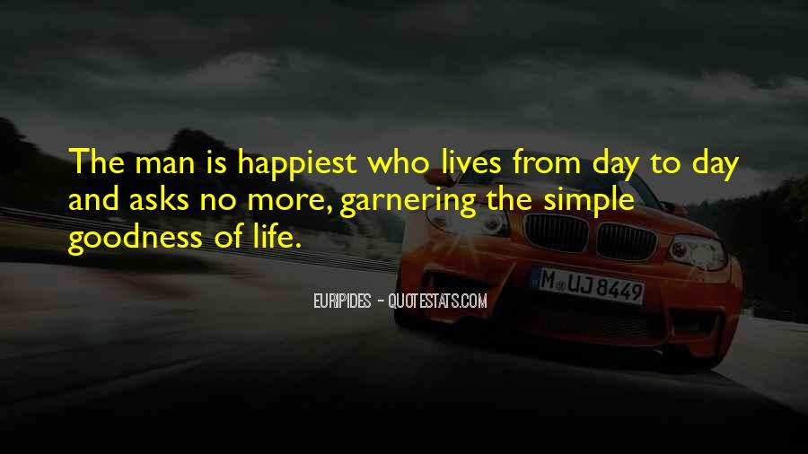 Happiness Simple Life Quotes #770435