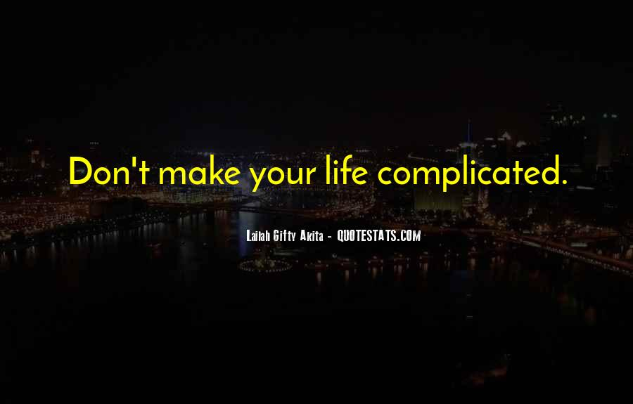 Happiness Simple Life Quotes #814085