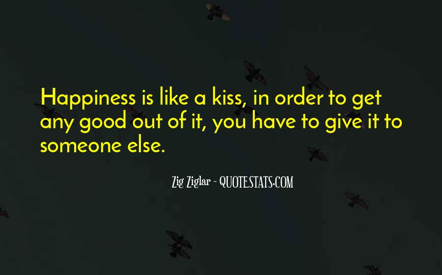 Happiness Someone Else Quotes #107488