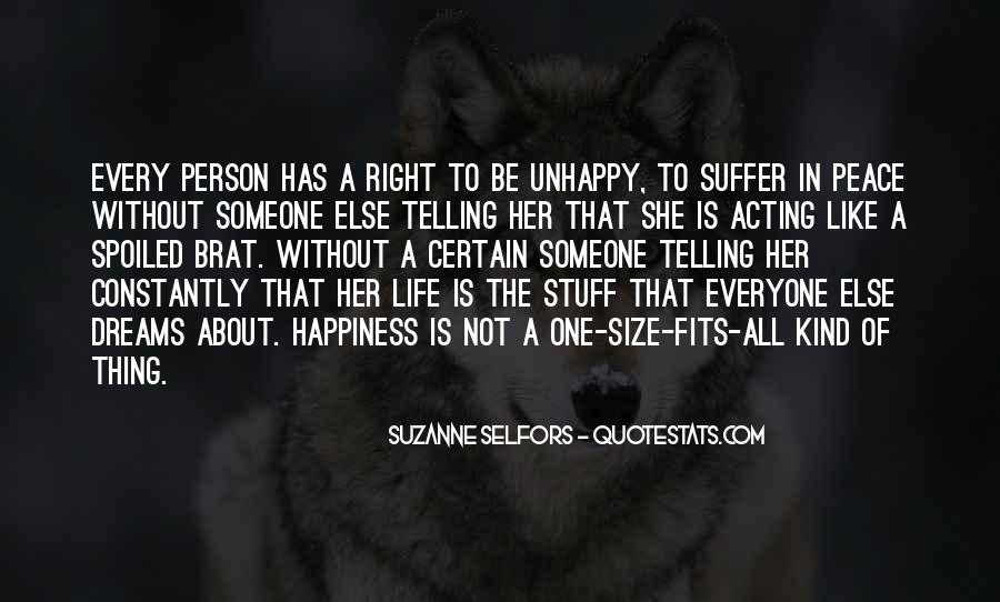 Happiness Someone Else Quotes #211037