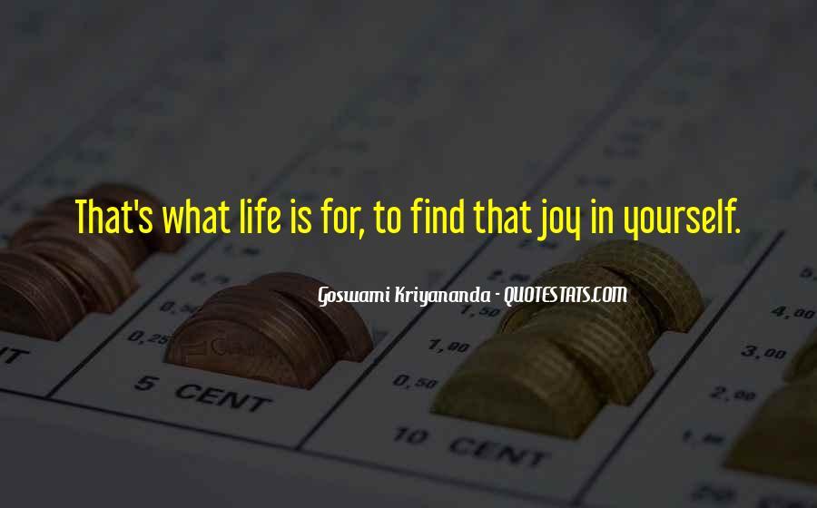 Happiness Vs Joy Quotes #14852