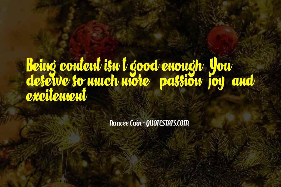 Happiness Vs Joy Quotes #28410