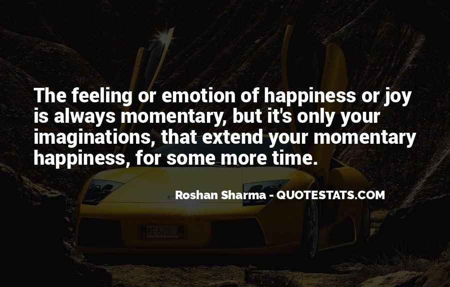 Happiness Vs Joy Quotes #42477