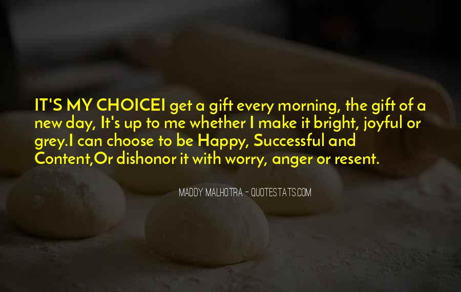 Happy And Content With Life Quotes #151481
