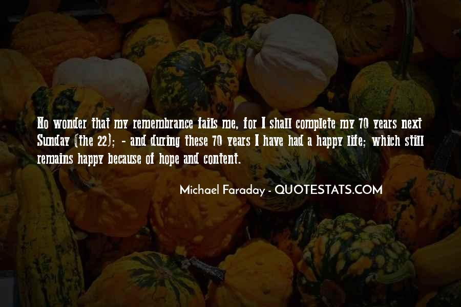 Happy And Content With Life Quotes #164770