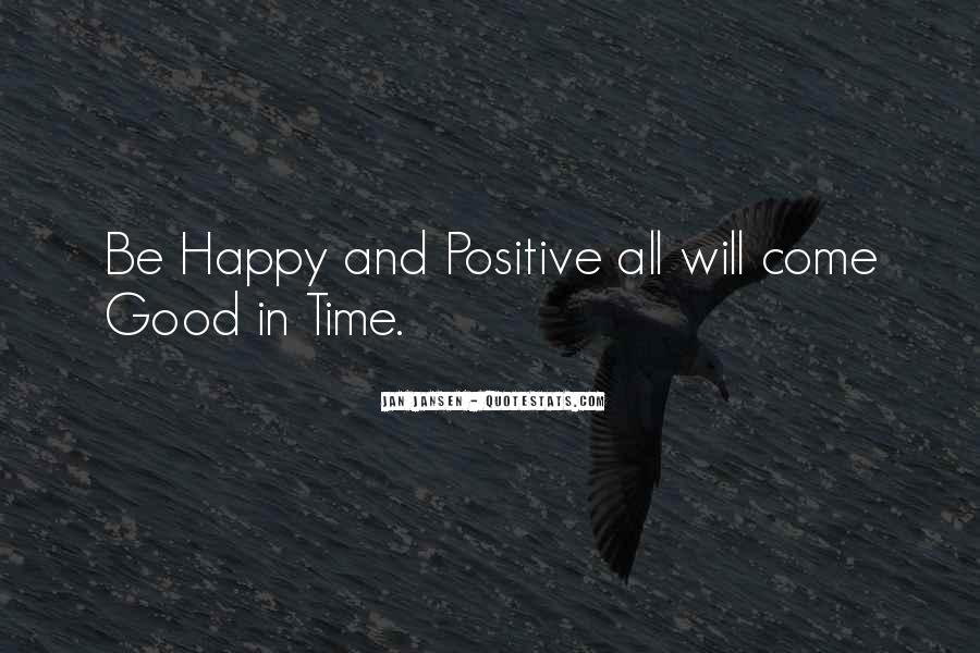Happy And Positive Quotes #1262501