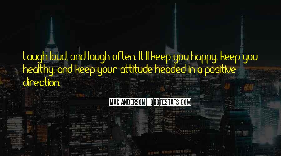 Happy And Positive Quotes #1266464