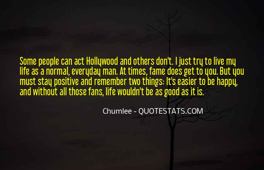 Happy And Positive Quotes #1390776