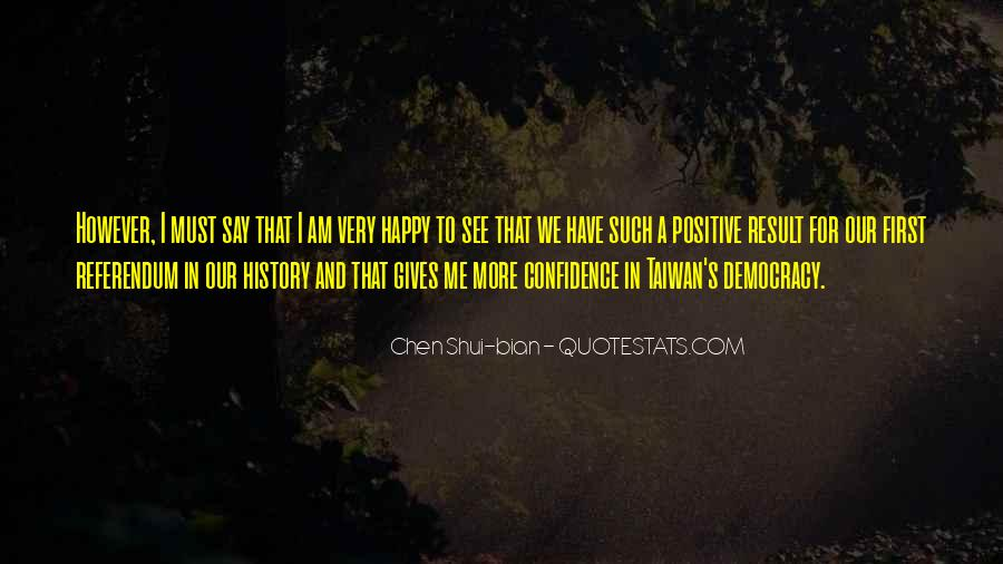 Happy And Positive Quotes #28952