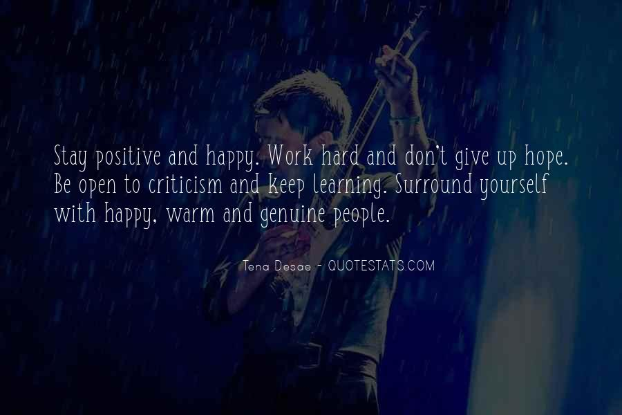 Happy And Positive Quotes #464631