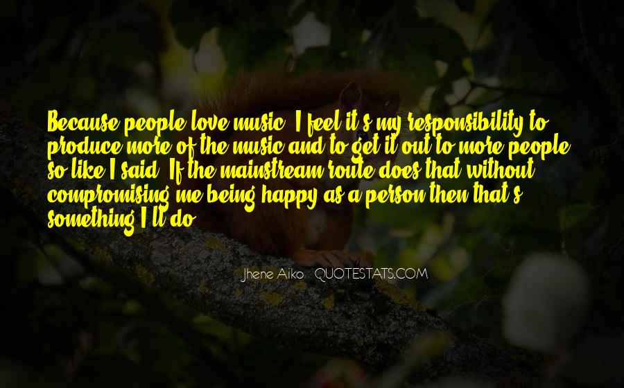 Happy Because Of Love Quotes #103426