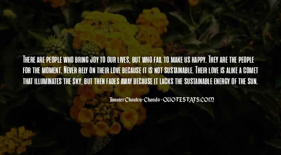 Happy Because Of Love Quotes #1488087