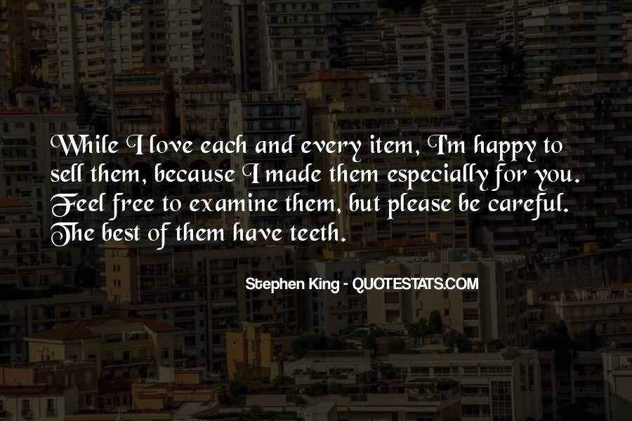 Happy Because Of Love Quotes #1545971