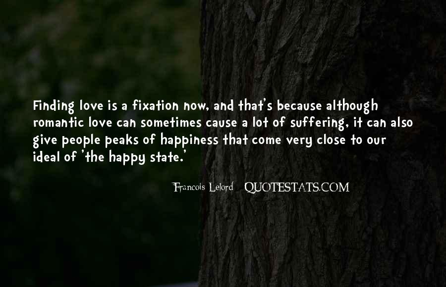 Happy Because Of Love Quotes #1628841