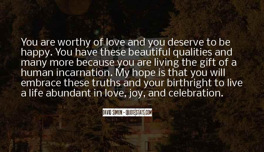 Happy Because Of Love Quotes #237921